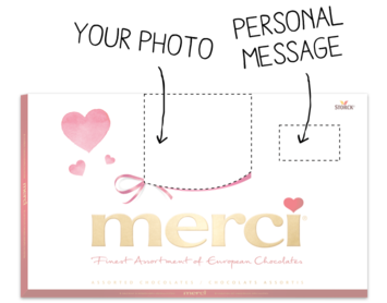 merci 400g box to personalize
